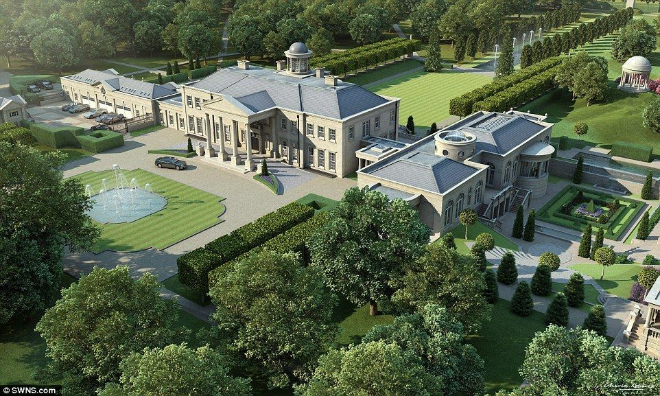 British developer to build £300million of English mansions