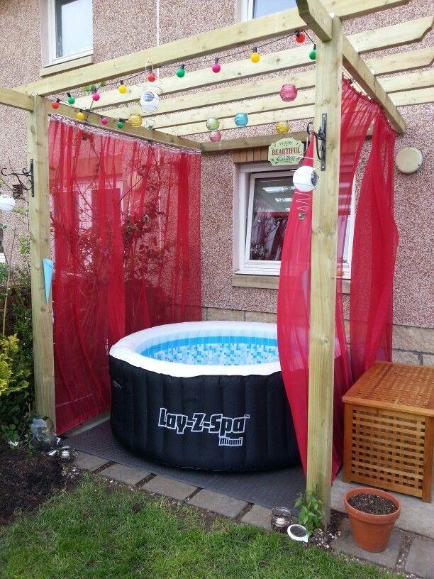Pin By Christy Roberts Berkowitz On Home Improvement In 2020 Hot Tub Backyard Hot Tub Patio Hot Tub Gazebo