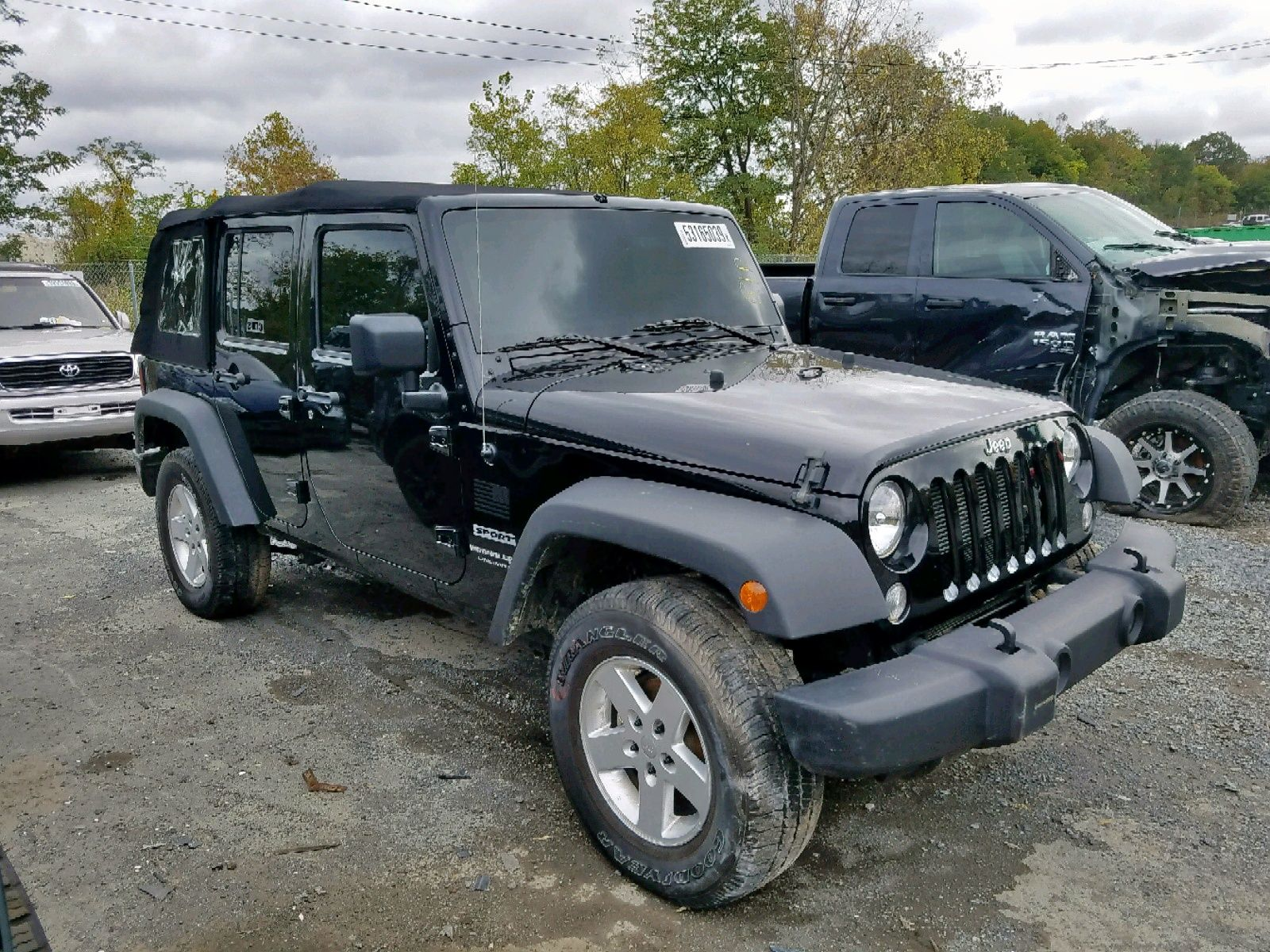 Salvage 2018 JEEP WRANGLER for Sale in New Jersey