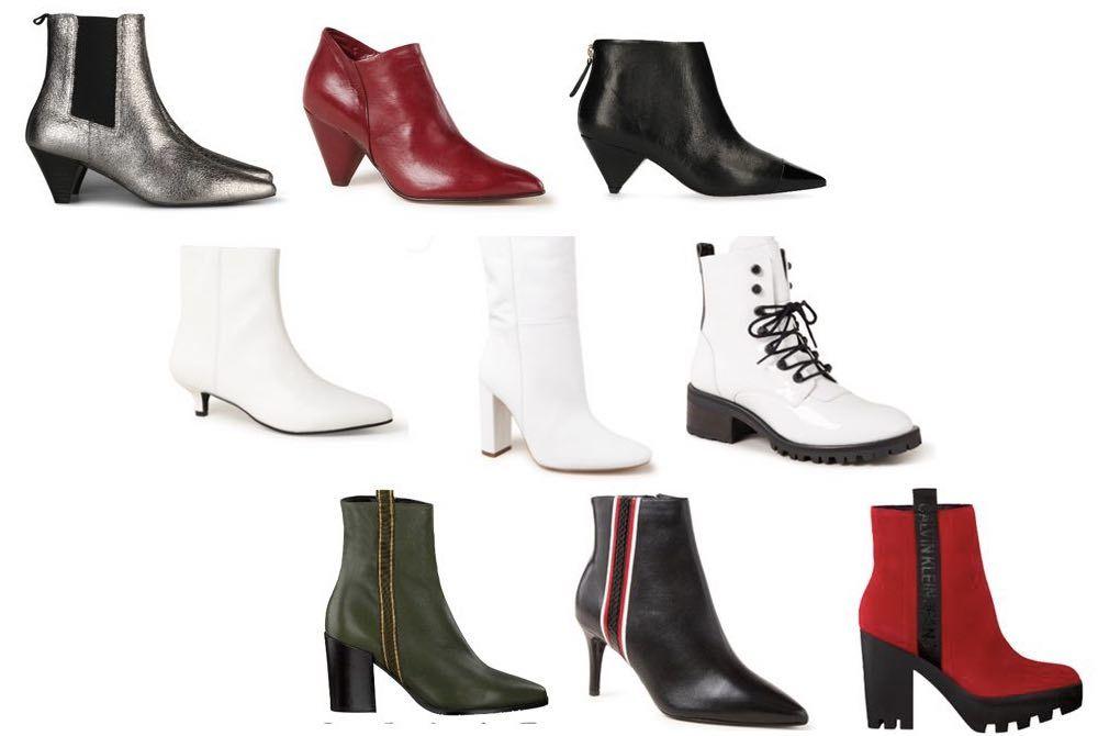 Schoenen en laarzen voor de herfst en winter