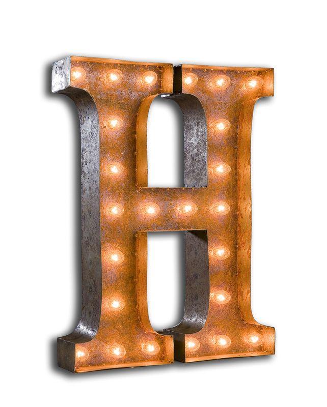 Vintage Marquee Lights - H