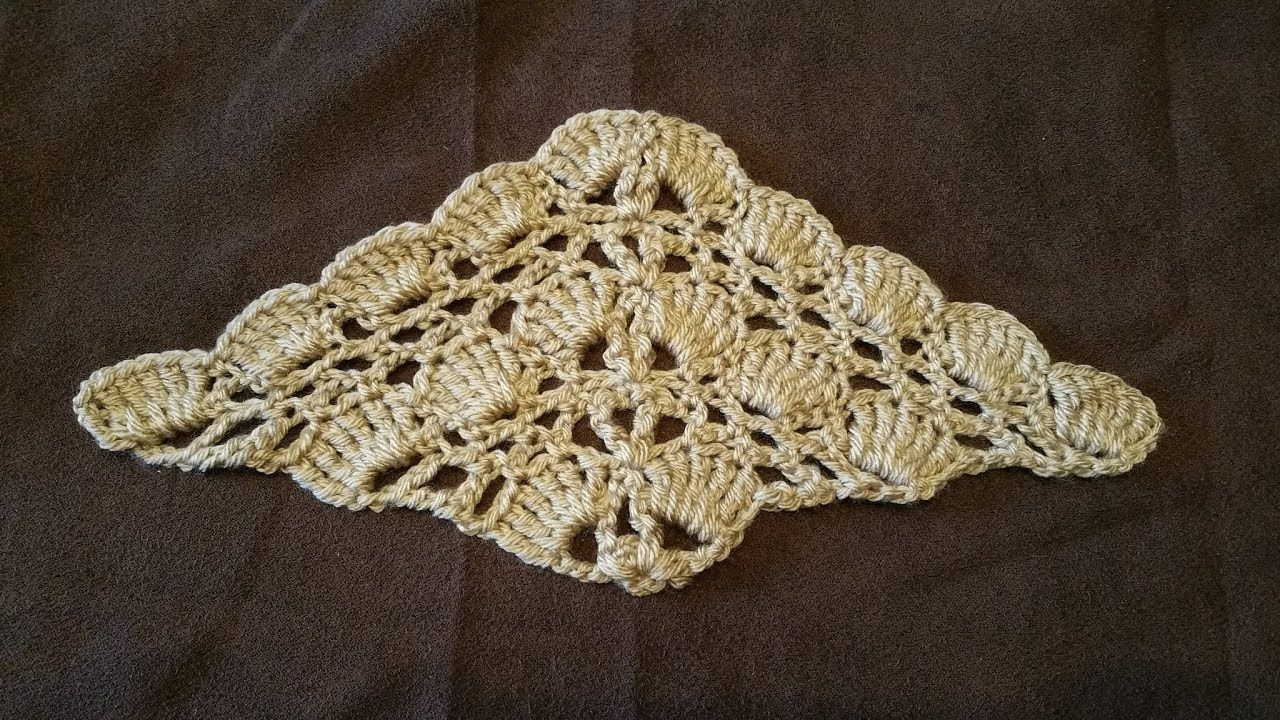 Tuto Crochet Super Châle Facile Aéré Crochet Tutorial