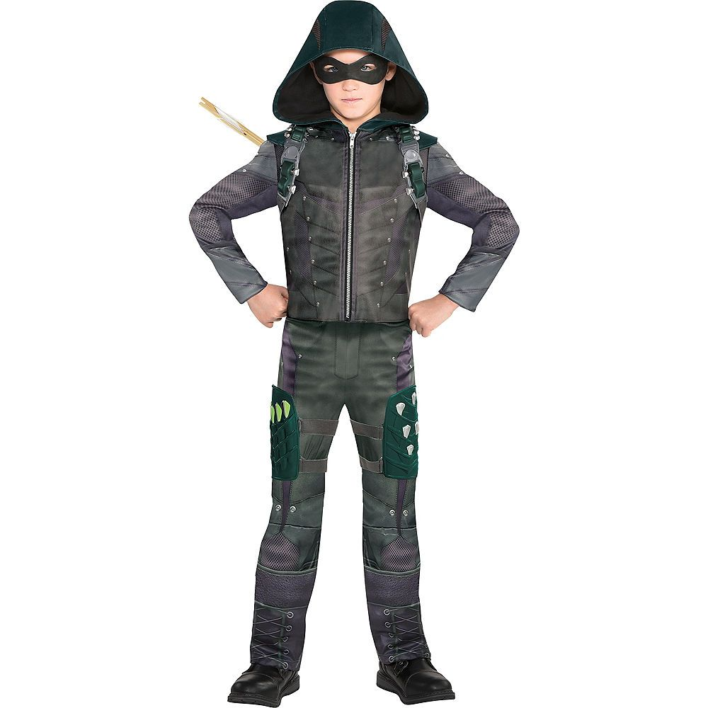 Boys Green Arrow Costume Image 1 Green Arrow Costume Arrow Costume Arrow Costume Kids