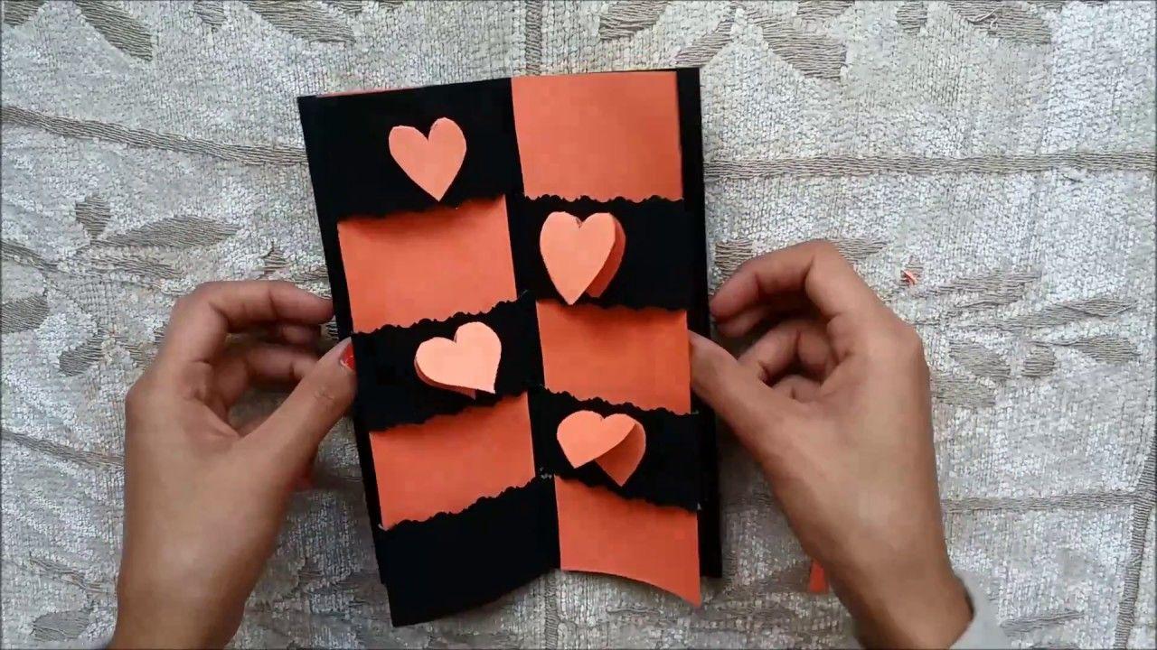 Secret Message Card Tutorial   Valentines Day Cards   Valentine ...