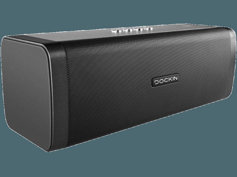 Dockin 213695 D Fine Bluetooth Lautsprecher Schwarz