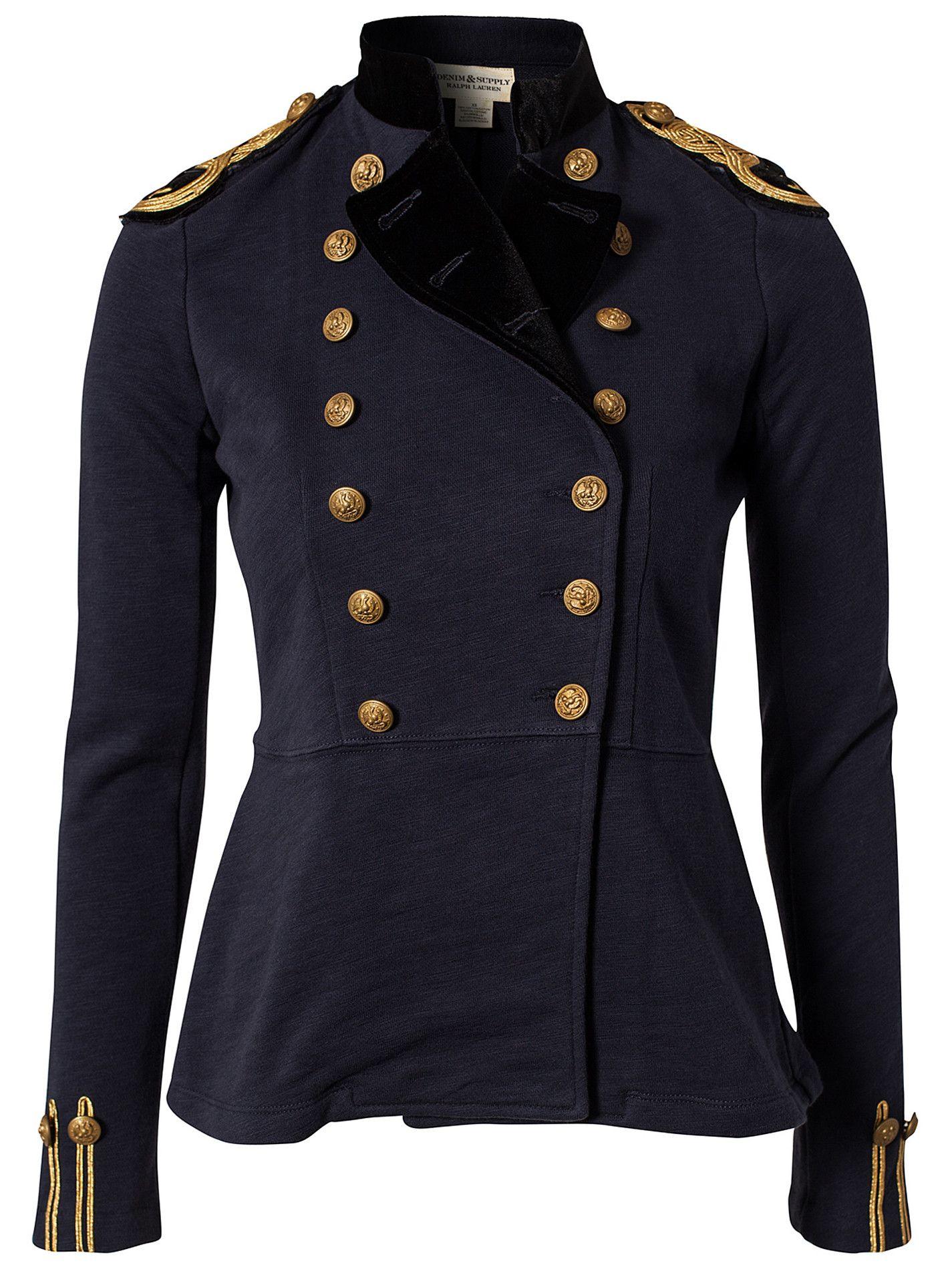 Officer jacket by Denim & Supply Ralph Lauren