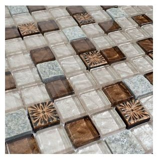 Soap Mosaic Home Elements Glass Mosaic Tile 1 Square Foot Product Description Cheap Mosaic Tiles Contemporary Mosaic Tile