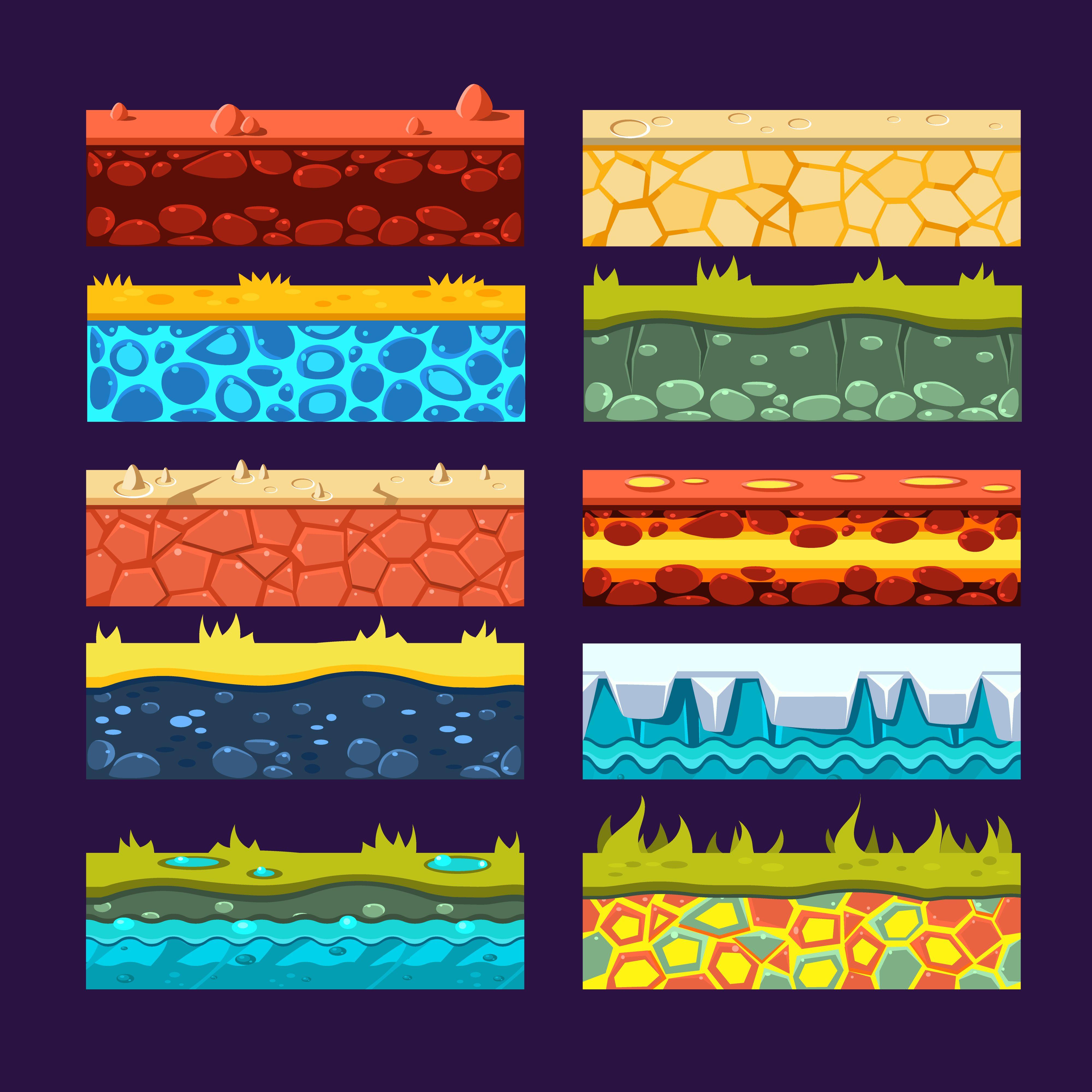 Textures for Games Platform Pixel art games, Game design
