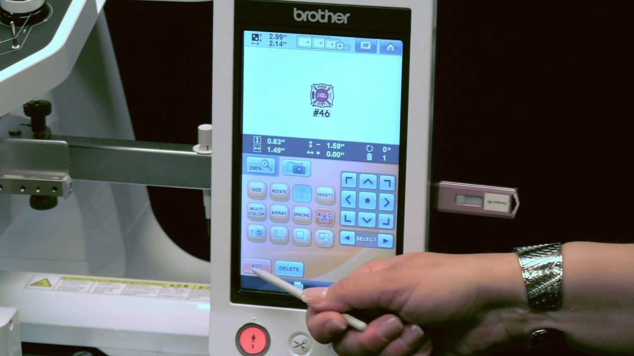 Brother™ multi needle embroidery entrepreneur pro pr e built
