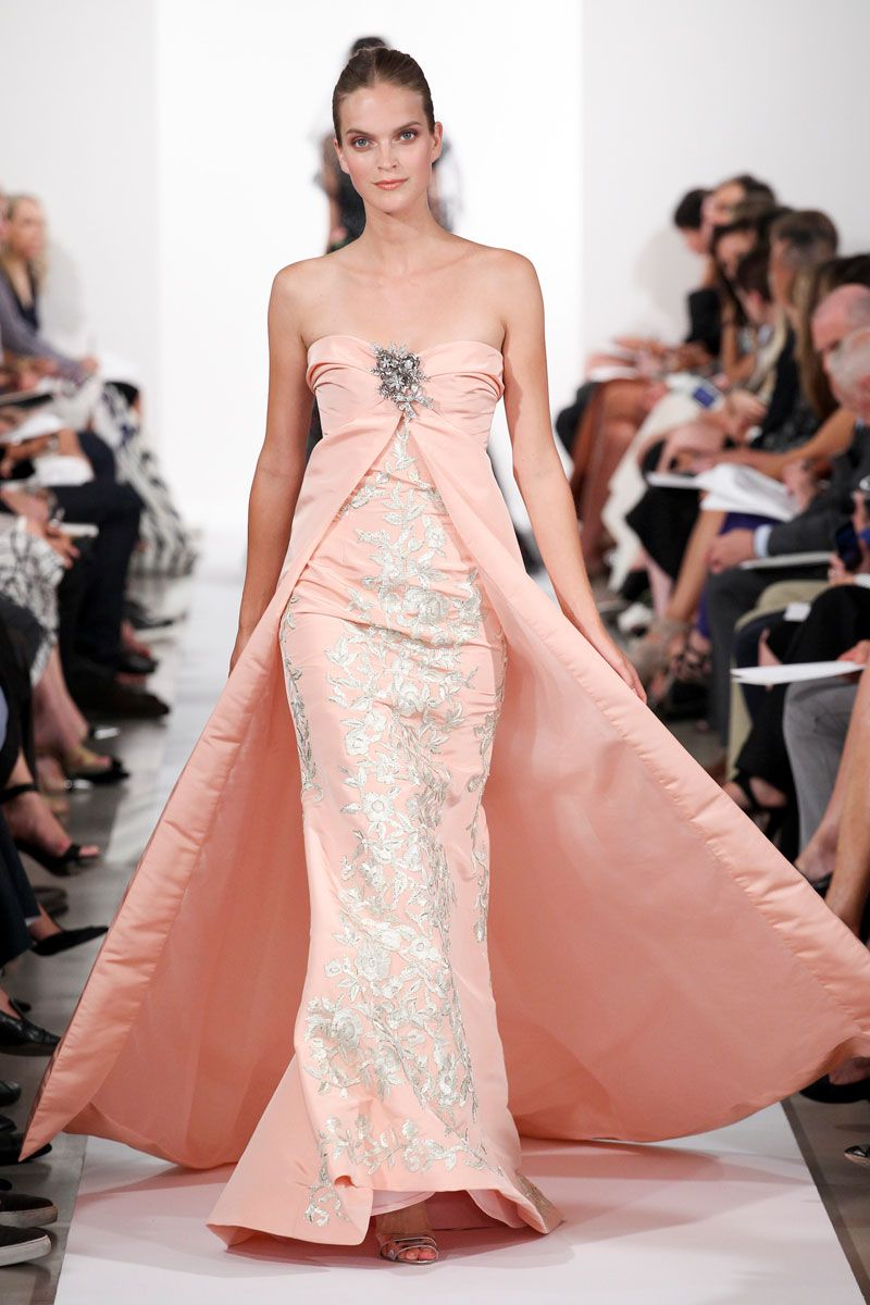 Oscar de la Renta Spring 2014 – Vogue | Small dresses couture ...