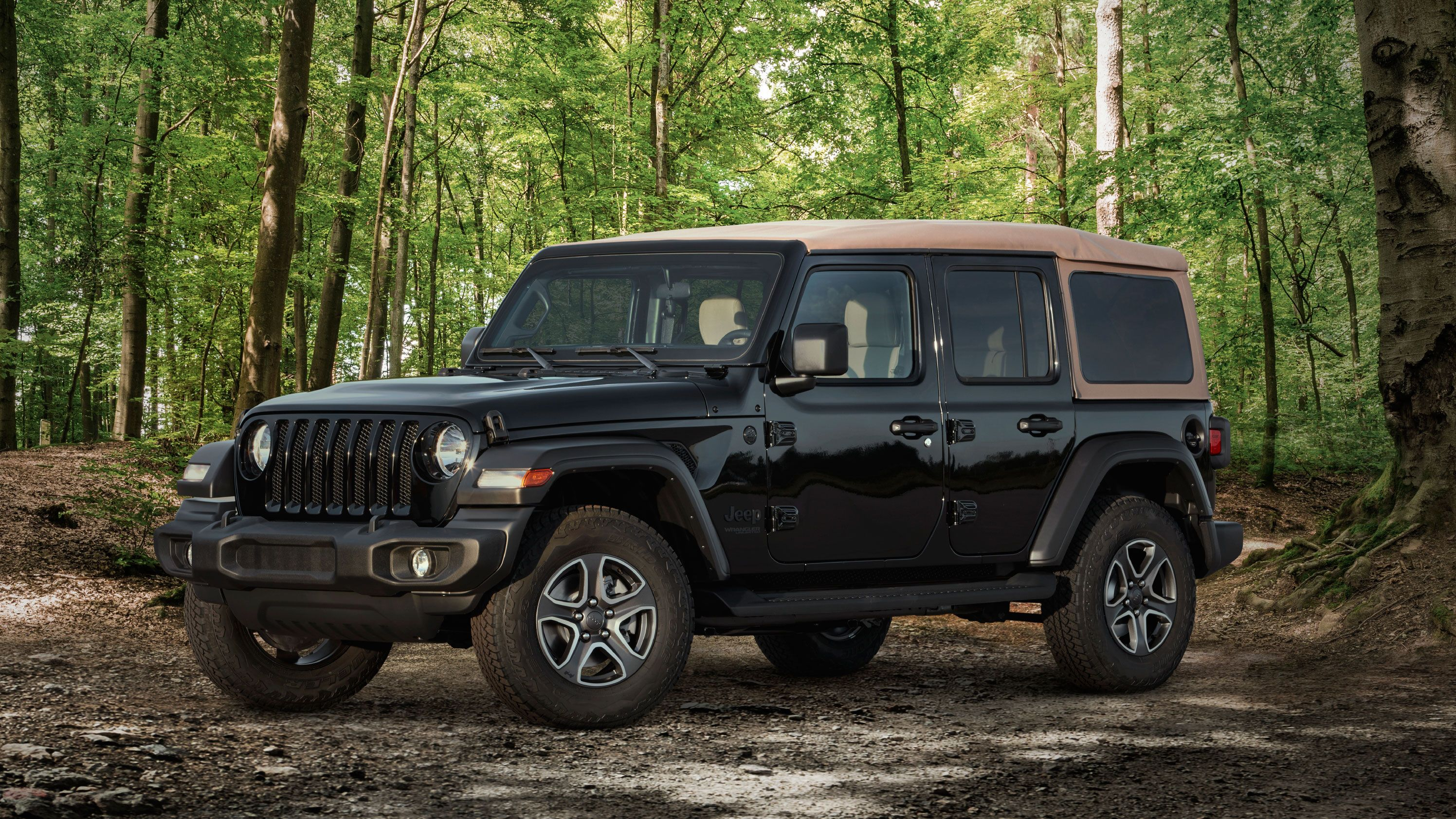 2020 Jeep Wrangler Jl Particular Editions Willys Black Tan