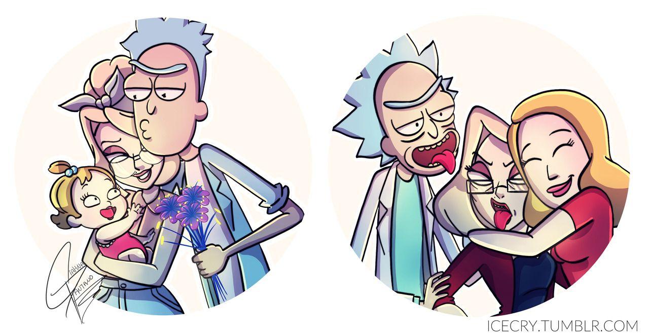 Rick And Morty Sad Aesthetic