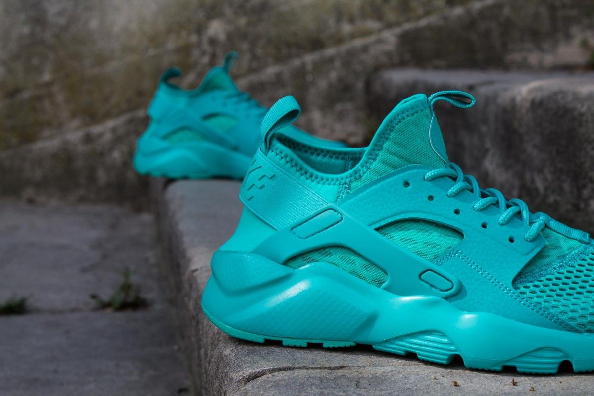 NIKE AIR HUARACHE RUN ULTRA BR CLEAR JADE www.cornerstreet.fr