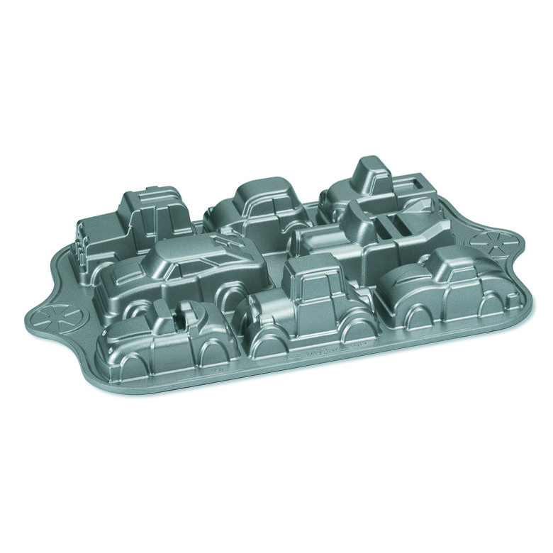 Nordic ware sweet rides classic car pan with images
