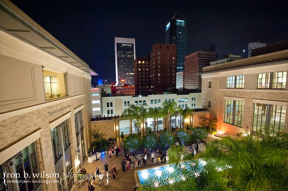 The Courtyard At Jacksonville Public Library Makes A Beautiful Venue For Wedding Receptions And Other Special