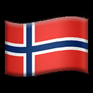 Flag Of Norway Flag Emoji Blue Nordic
