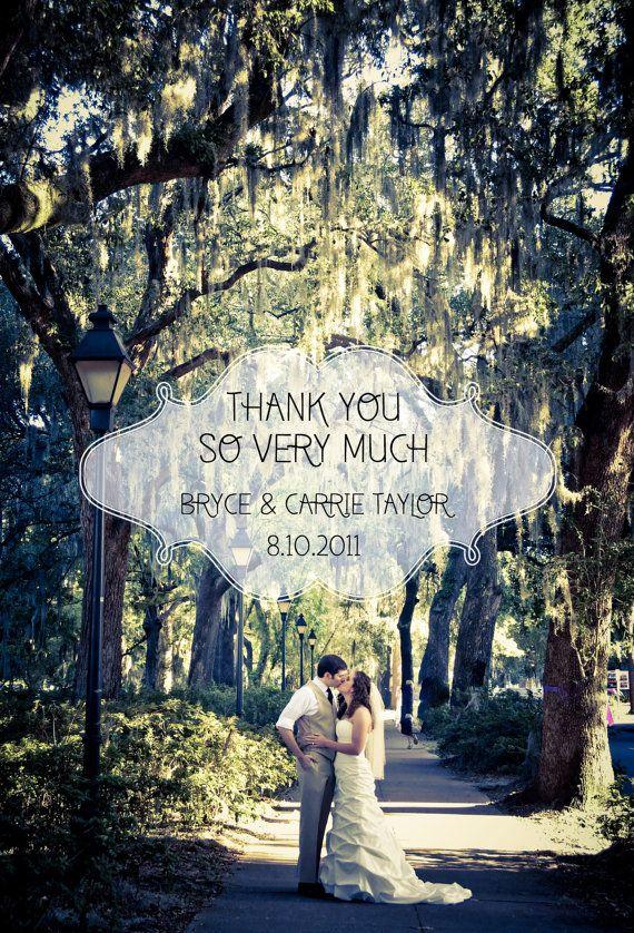 Wedding Photo Thank You Card Wedding Photography Ideas Pinterest