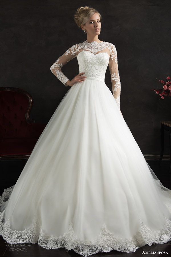 AmeliaSposa 2015 Wedding Dresses | Wedding, Sleeve and Dress wedding