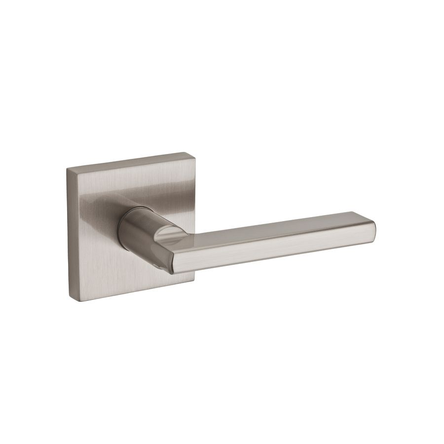 Wonderful Kwikset Halifax Satin Nickel Universal Passage Door Lever
