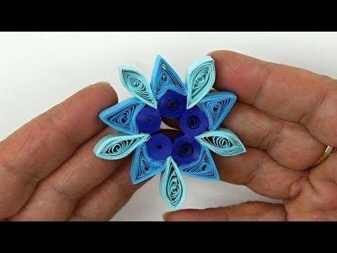 Mit Kinder für Weihnachten basteln ❁ Einfache Quilling Stern Anleitung ❁ Deko Ideen mit Flora -Shop