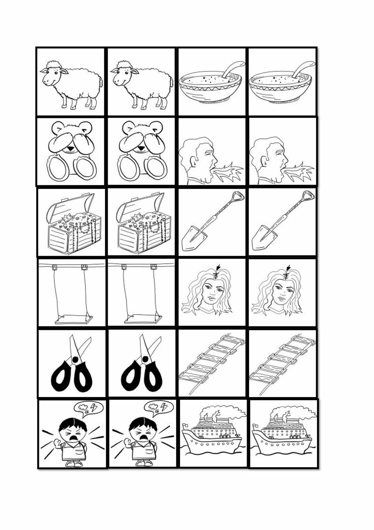 Memo Spiel Ausdrucken Memokarten Abc