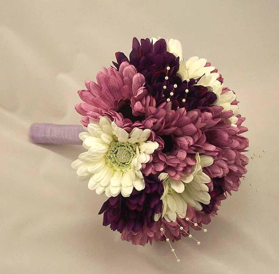 Purple Gerbera Daisy Bouquet