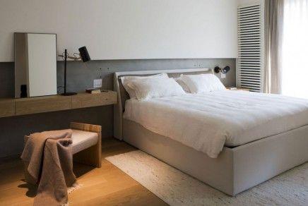 slaapkamer met stijlvol italiaans design inrichting huis