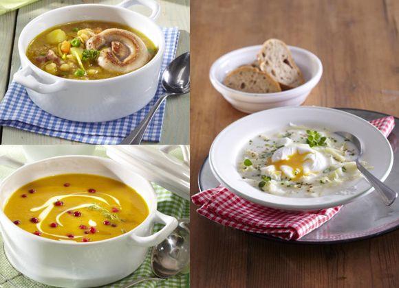 Na polévky existuje několik tisíc receptů, ale vy doma vaříte stále ty stejné? Tomu je teď konec. Inspirujte se: