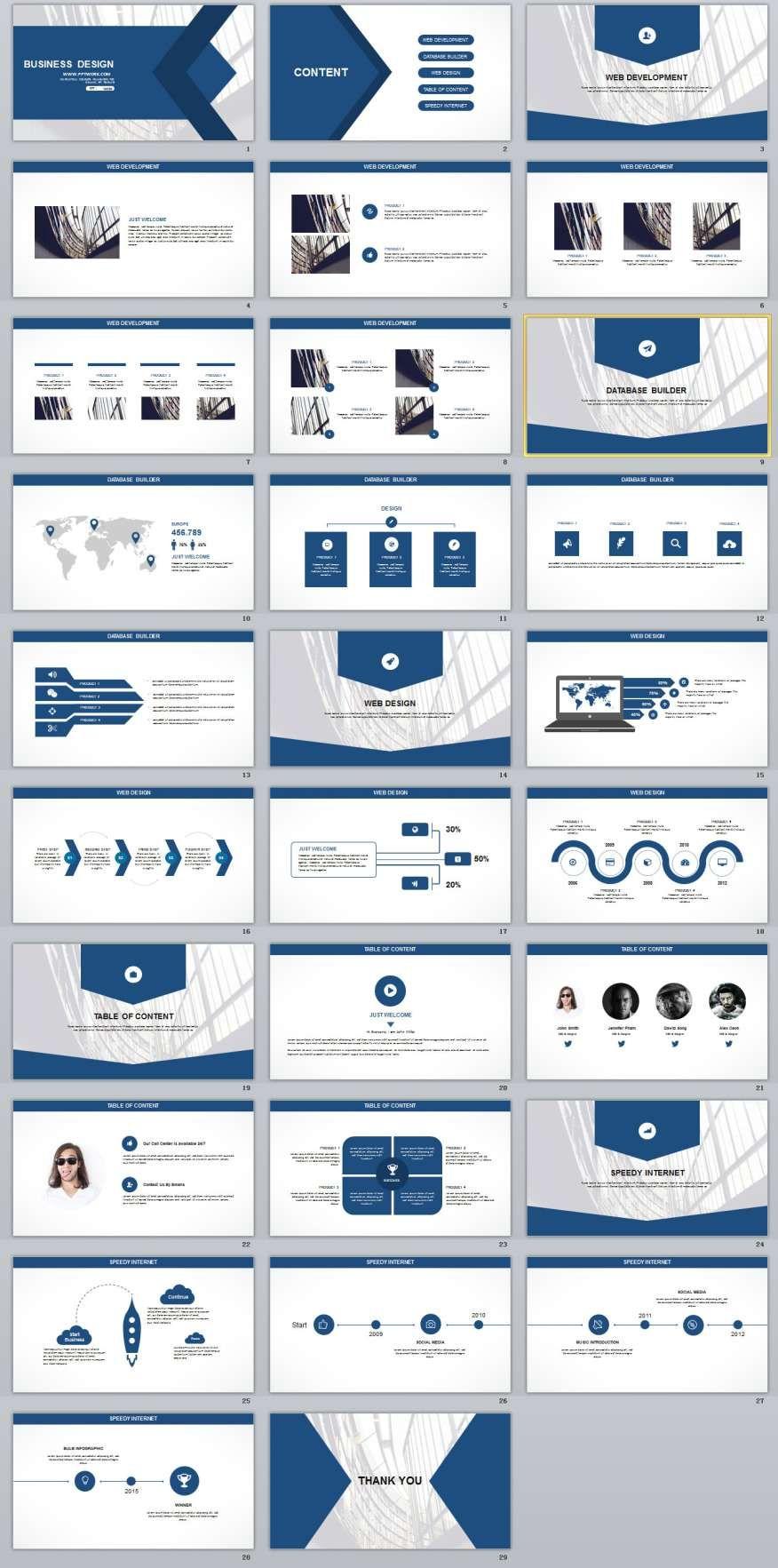 29 blue white business report powerpoint templates 2018 29 blue white business report powerpoint templates toneelgroepblik Choice Image