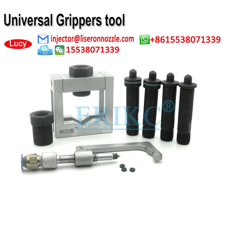 Auto Common Rail Injector Clamping Tool Universal Grippers