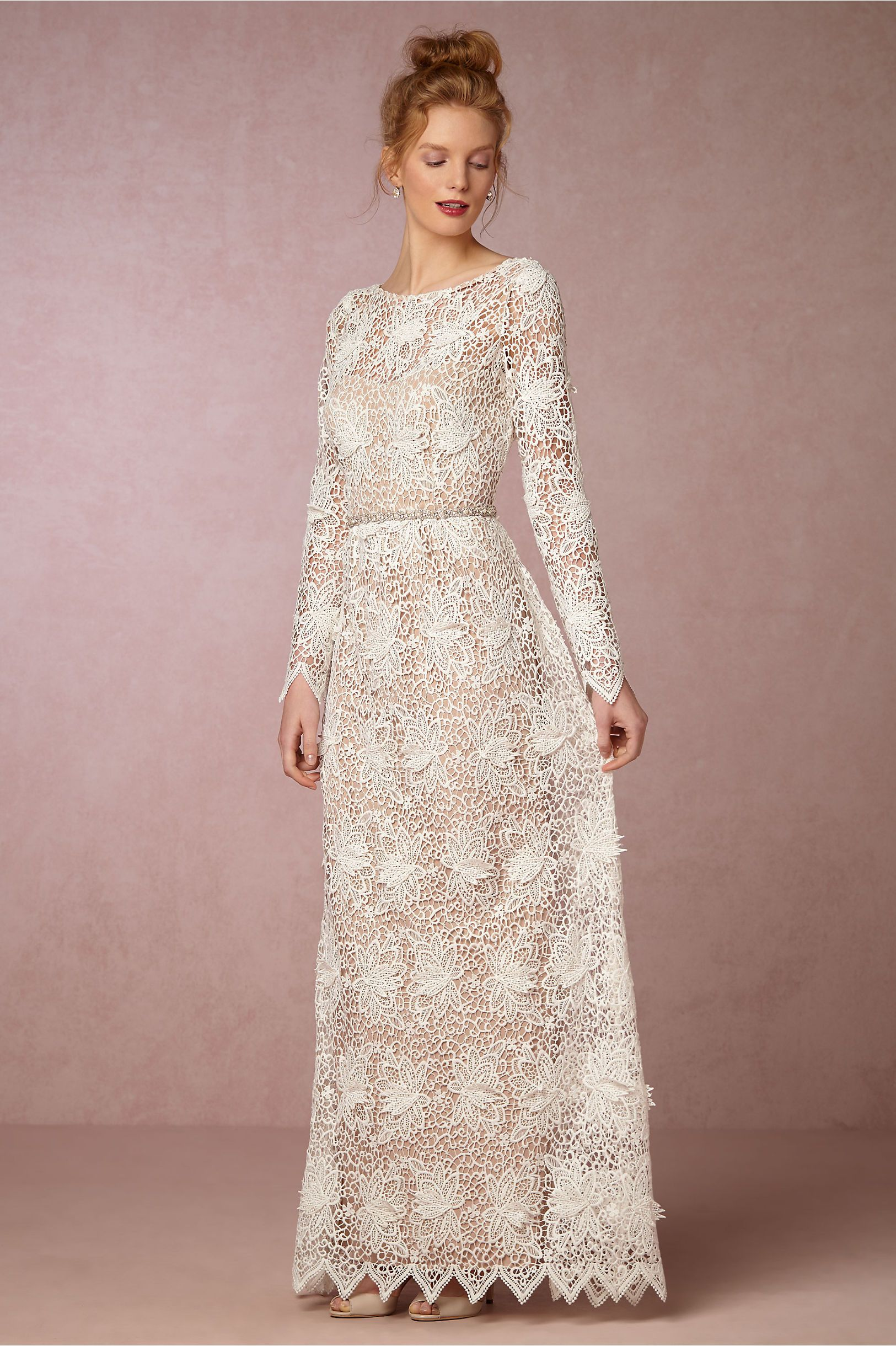standout graphic lace | Landry Dress from BHLDN