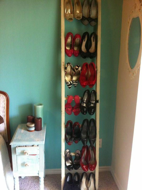 Ideen Für Schuhaufbewahrung treppe schuhe aufbewahren im schhlafzimmer diy möbel und deko