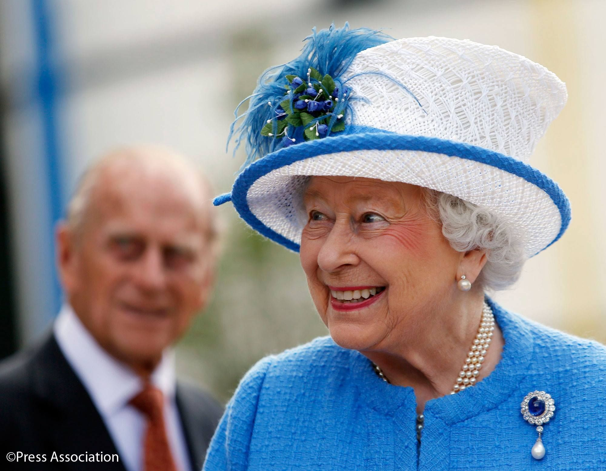 The Queen and The Duke of Edinburgh were in Glasgow today