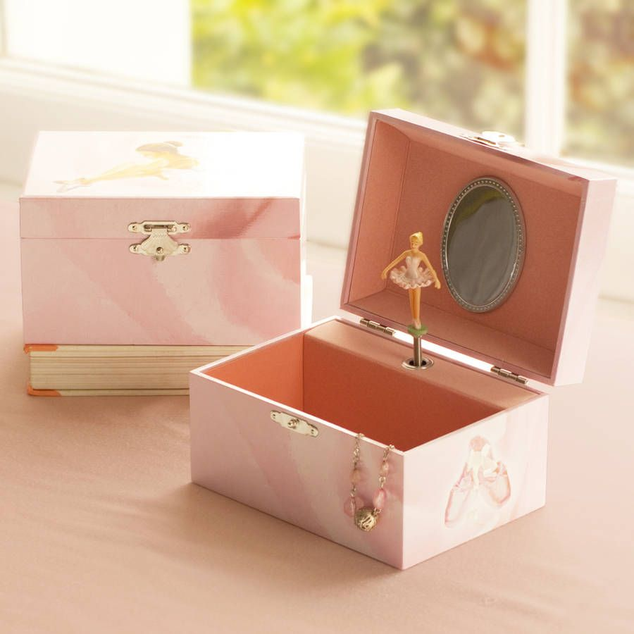 Ballerina Musical Jewelry Box For Little Girls Musical jewelry