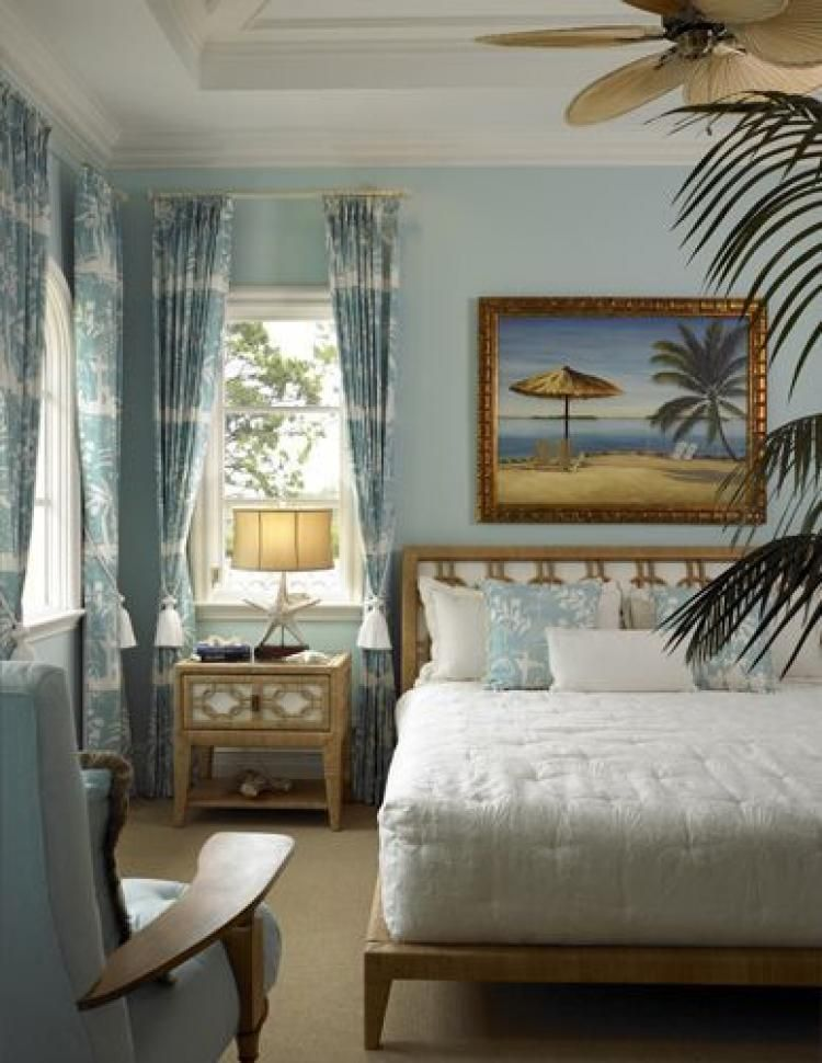 50 Elegant Tropical Caribbean Bedroom Decor Ideas - Page ...