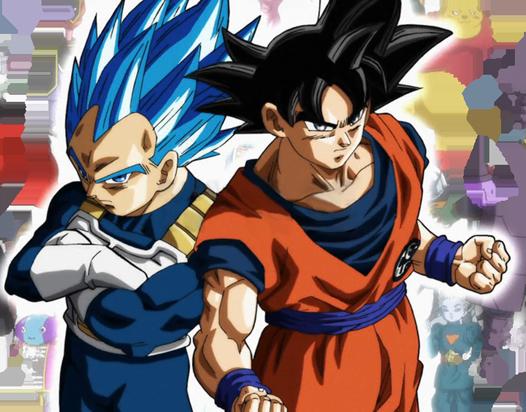 Vegeta Full Ssjb And Goku Migatte No Gokui Dbs New Ending Dragon Ball Anime Dragon Ball Dragon Super