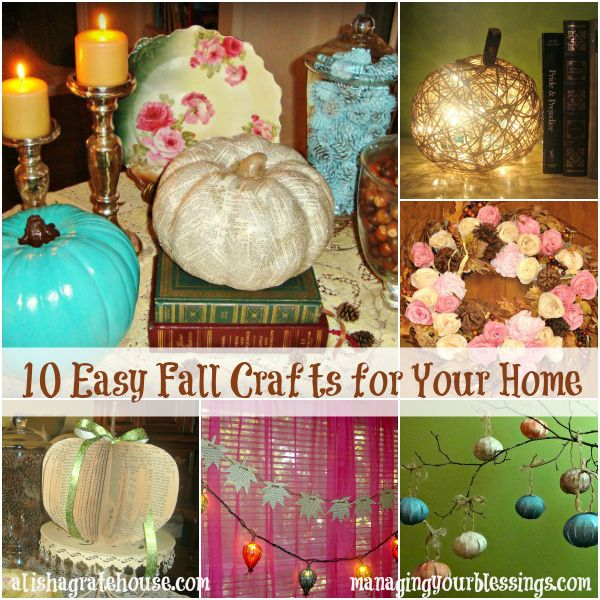 Good Want Some Fun, Shabby Chic Style Crafts With Which To Decorate Your Home  For The Fall Season? These Projects Are Quick, Easy And Inexpensive (or  Even Free)
