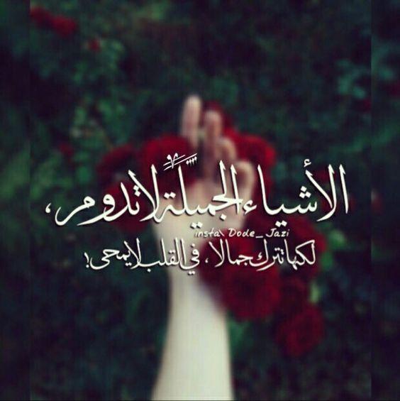 الاشياء الجميلة لا تدوم Iphone Wallpaper Quotes Love Love Quotes Wallpaper Arabic Quotes