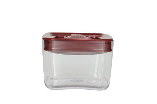 Click Clack Cube 1 Quart Storage Container With Red Lid By Click Clack 14 86 Airtig Airtight Food Storage Containers Microwaves Uses Food Storage Containers