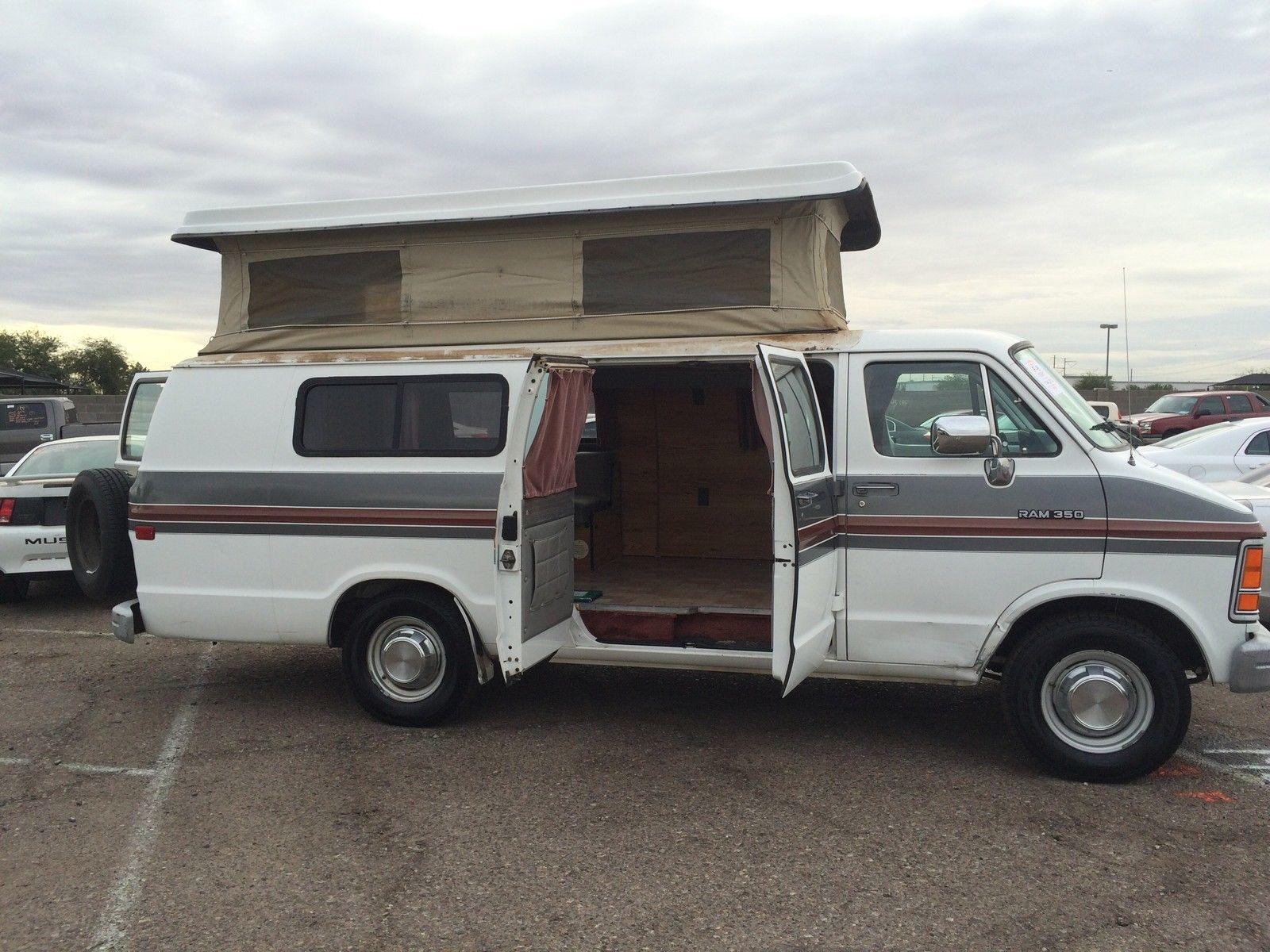 1991 Dodge B3500 Camper Custom cars for sale, Dodge