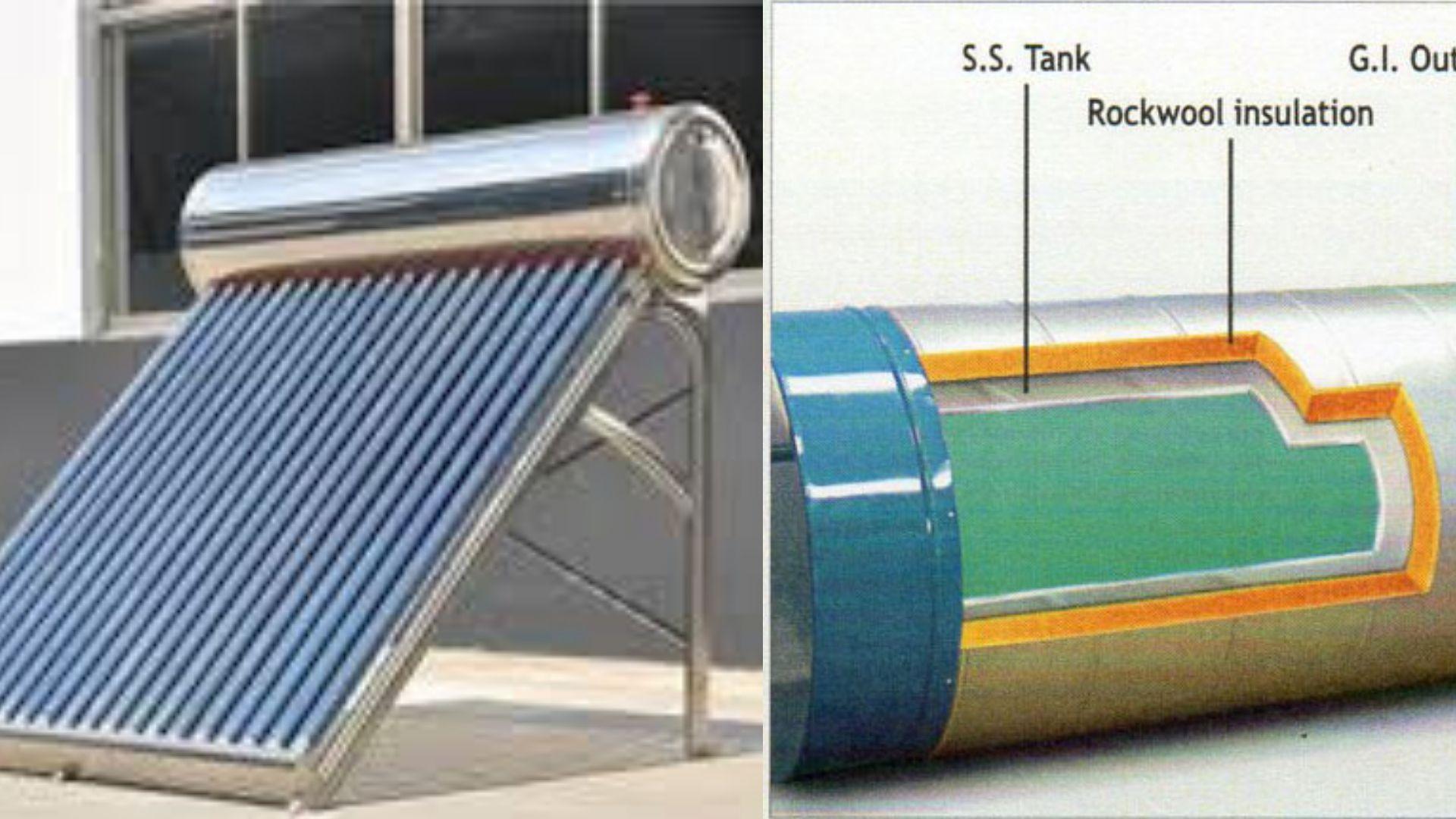 Sizing Solar Hot Water Tanks Solar Hot Water Tank Solar Hot Water Water Tank