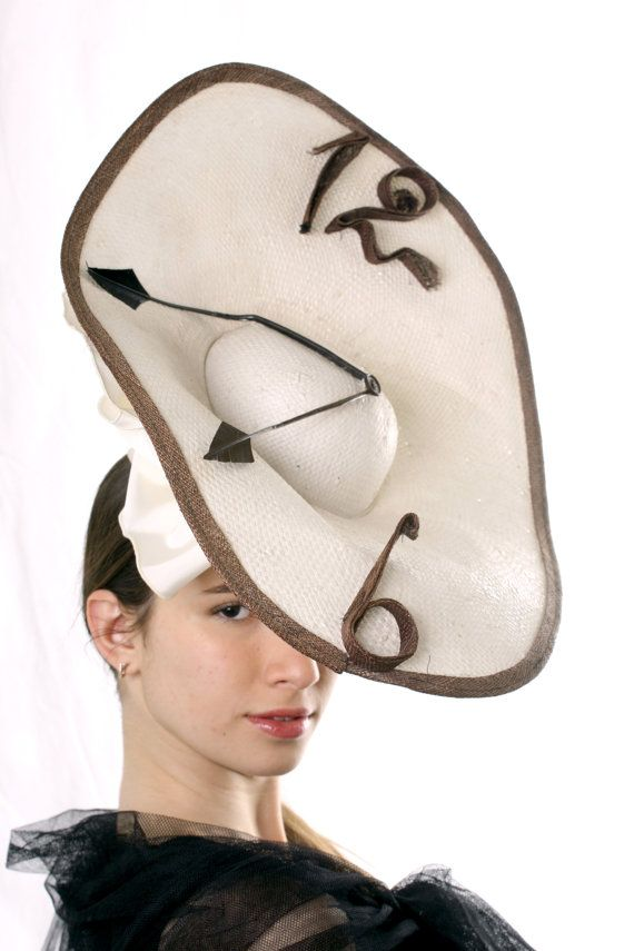 f7217423227 Nobility of time Ascot hat! Stunning Royal Ascot saucer fascinator hat  inspired by Dali