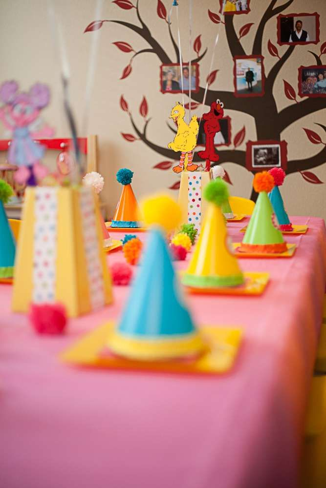 Sesame Street inspired Birthday Party Ideas | Party