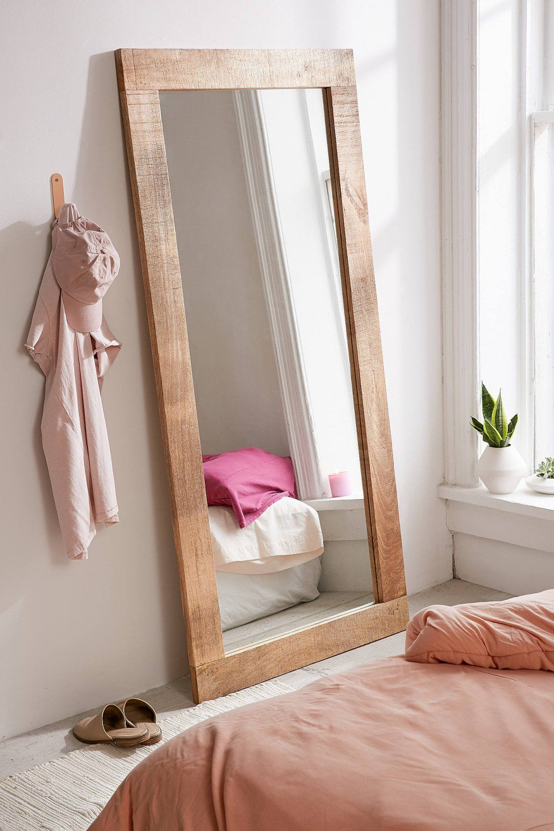 Ashton Mango Wood Mirror Wood Mirror Mango Wood Natural Home Decor