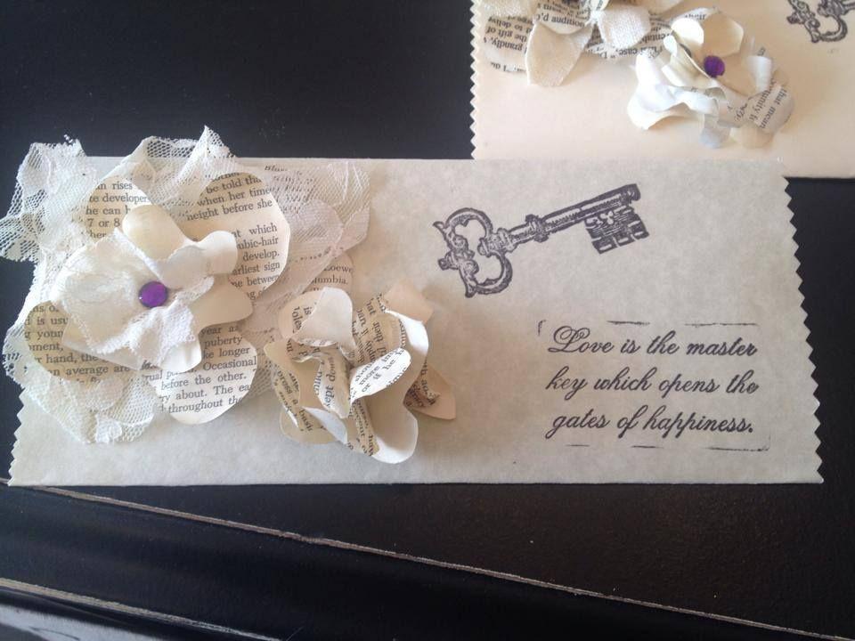 handmade envelope made with love  handmade envelopes