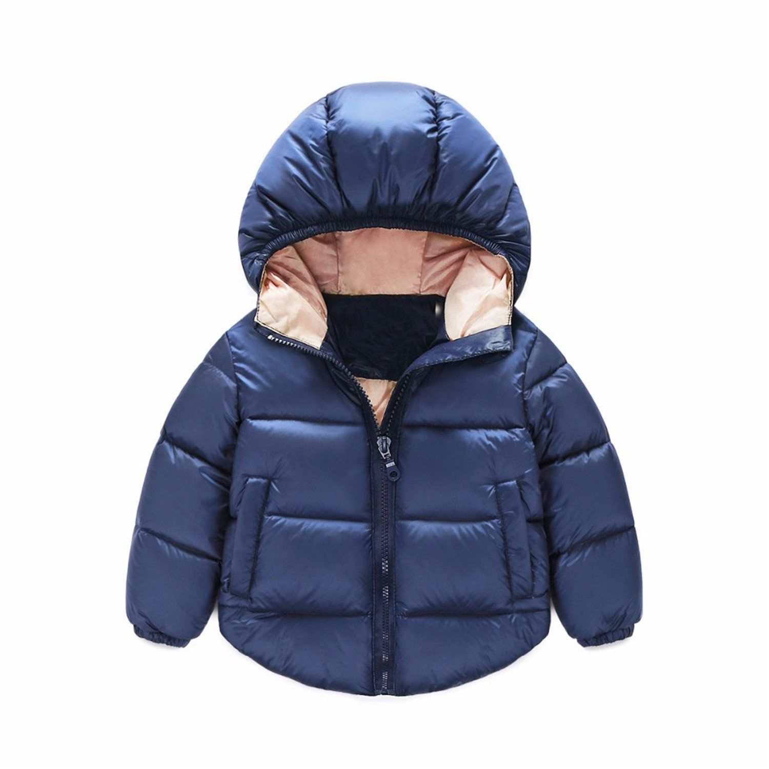 eacb8d674 Anthony Moore Autumn Winter Baby Warm Snowsuit Boys Girls Coat ...