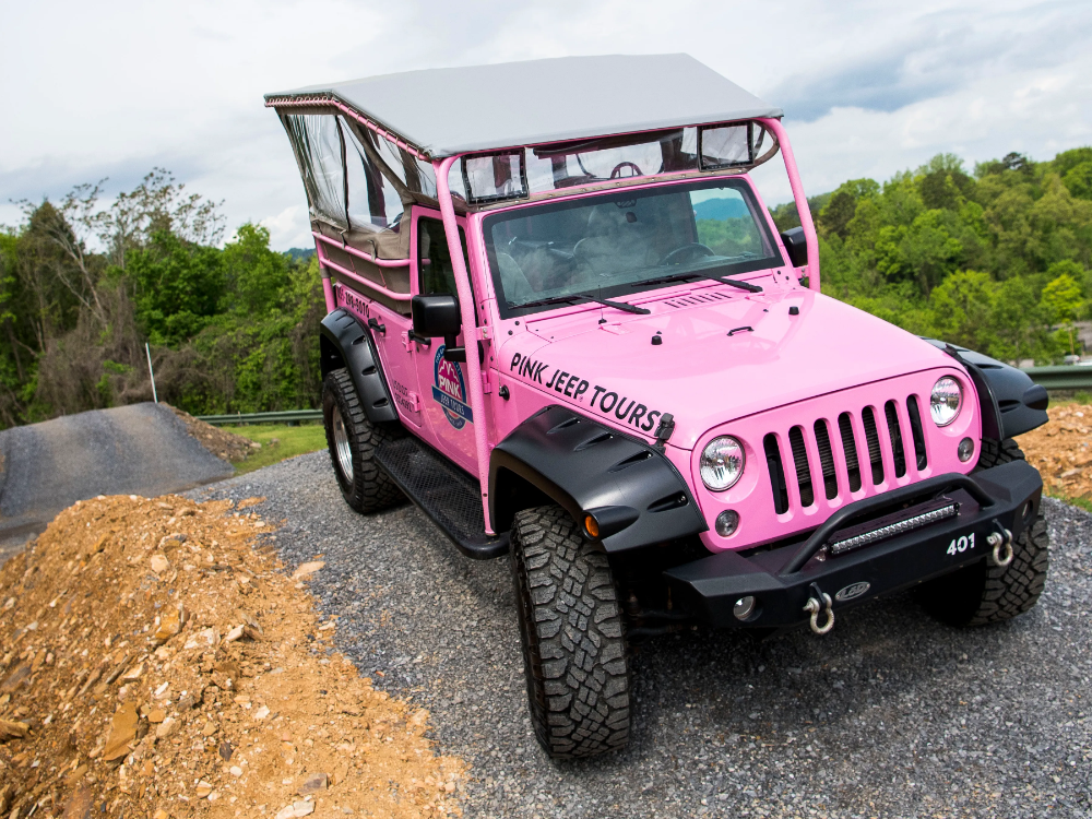 Pink Jeep Tours Opens In Smoky Pink Jeep Smokies Jeep