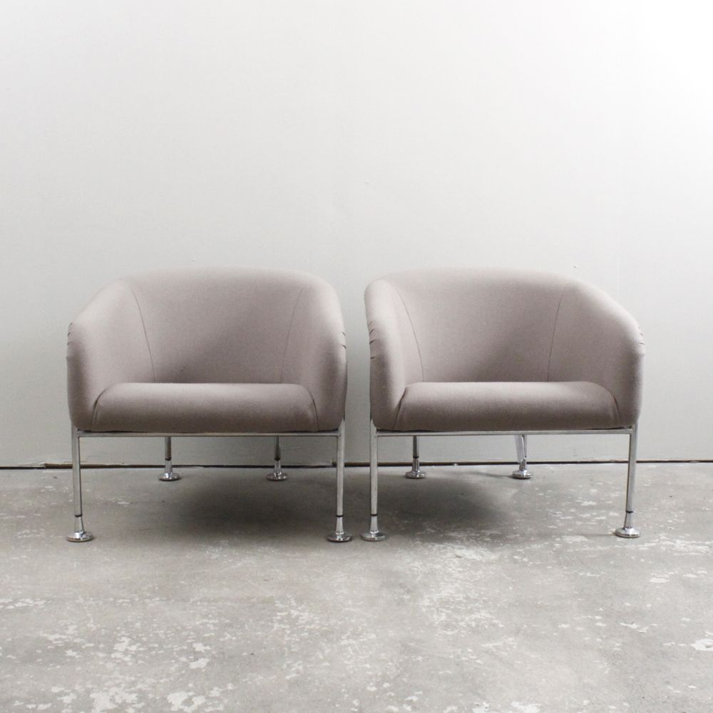 Swedish Lounge Chairs Via Dusty Deco. Click On The Image To See More!