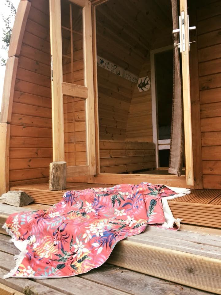 chalet de jardin habitable insolite : le pod cabane installé ...