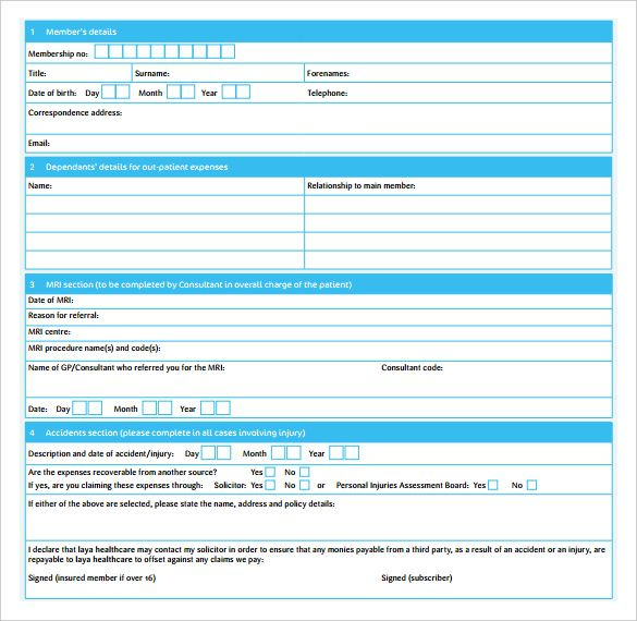Blank Doctor Receipt Template , The Proper Receipt Format for - download rent receipt format